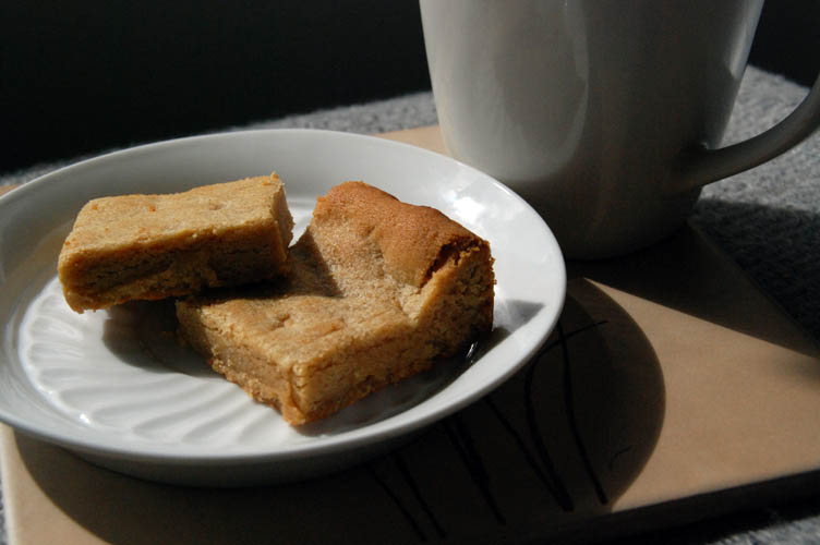 Easy Peanut Butter Bar Cookies
